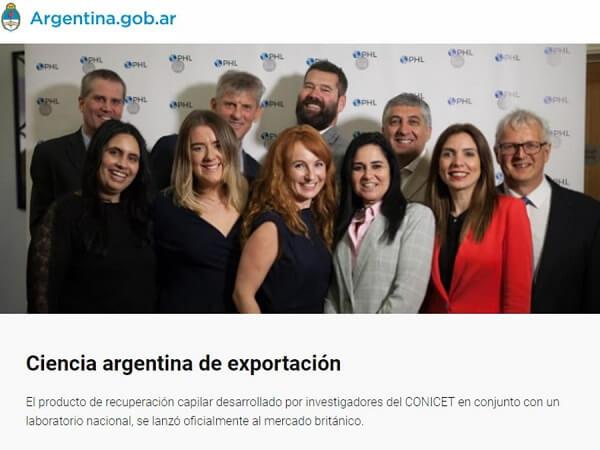Ciencia Argentina de exportación